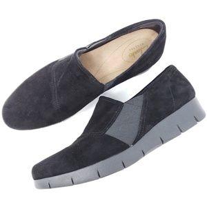 Clarks Artisan Loafer Pumps Comfort Shoes Wedge